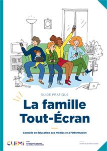 Couverture du guide « La famille Tout-Écran »